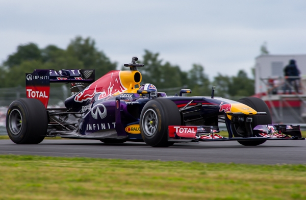 David Marshall Coulthard & Red Bull Racing F1 in Moscow