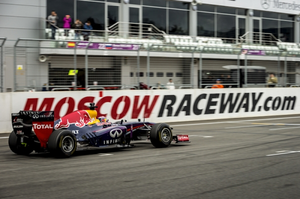 Daniil Kvyat & Red Bull Racing F1 in Moscow 2014